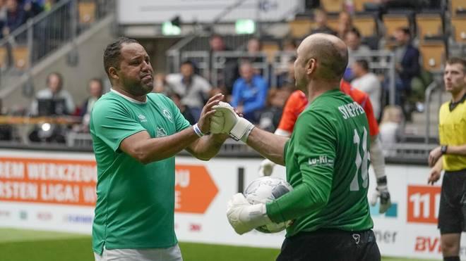 Ailton trat zuletzt immer wieder bei Legendenturnieren für Werder Bremen an
