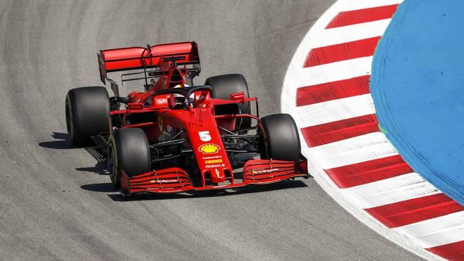 Sebastian Vettel erhielt vor dem Großen Preis der Formel 1 in Spanien ein neues Chassis