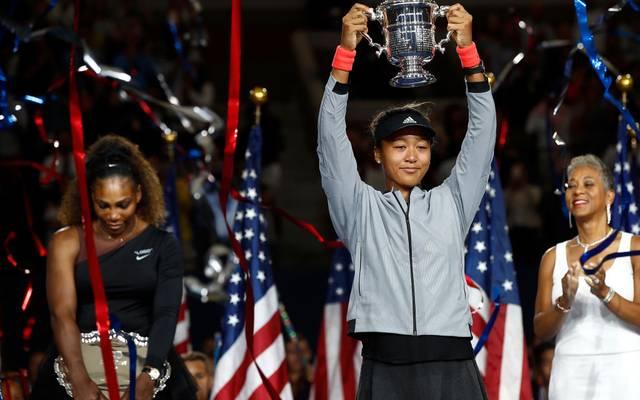 Naomi Osaka besiegte Serena Williams bereits beim Finale der US Open 2018