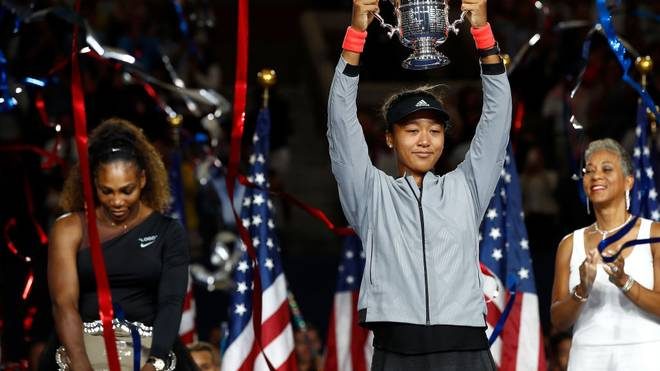 Naomi Osaka besiegte Serena Williams bereits beim Finale der US Open 2018