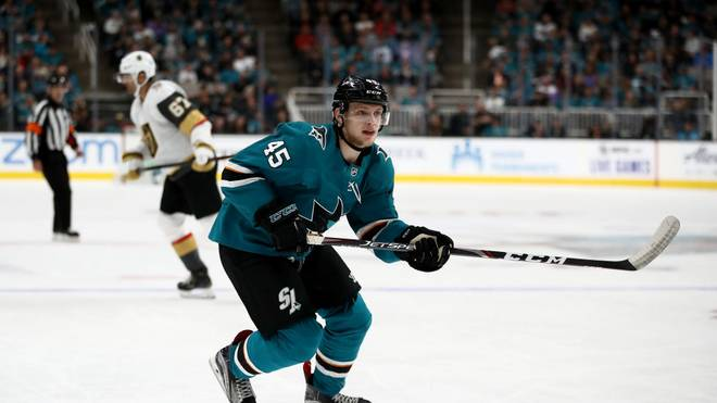 Lean Bergmann spielt seit Mai 2019 für die San Jose Sharks in der NHL