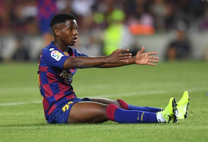 16 Jahre, neun Monate und 25 Tage. In diesem Alter feierte ANSU FATI am Sonntag sein Debüt für den FC Barcelona. In der 78. Spielminute wurde der Teenager aus Guinea-Bissau gegen Betis Sevilla (5:2) eingewechselt