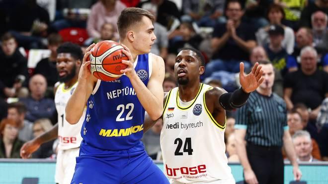 Gytis Masiulis (l.) spielte zuletzt bei Neptunas Klaipeda