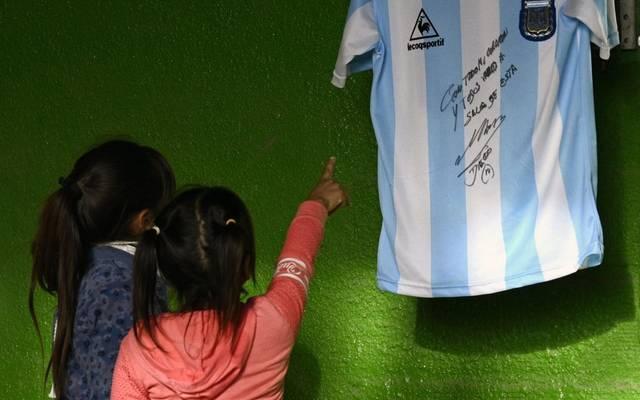 Die Aktion sorgte in Argentinien für große Begeisterung