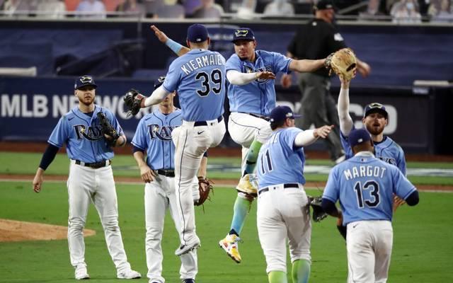 Die Tampa Bay Rays führen 1:0 in der Serie gegen die Houston Astros