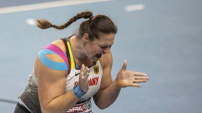 Christina Schwanitz stößt zur Bronzemedaille in Torun