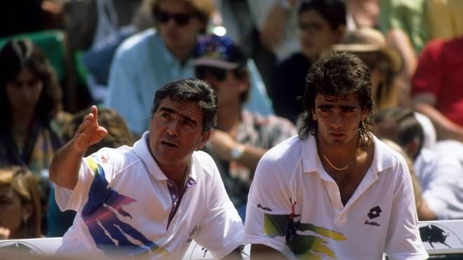 Guillermo Perez-Roldan (r.) wurde von seinem Vater Raul für schlechte Leistungen bestraft