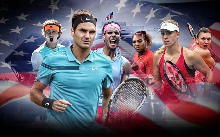 Mit den US Open steht der letzte Grand Slam des Jahres an. Während Angelique Kerber nach den Wimbledon-Triumph nachlegen will, hofft Alexander Zverev dank Unterstützung von Legende Ivan Lendl auf den Grand-Slam-Durchbruch. Doch die internationale Konkurrenz ist groß. SPORT1 macht den Favoritencheck zu den US Open 2018