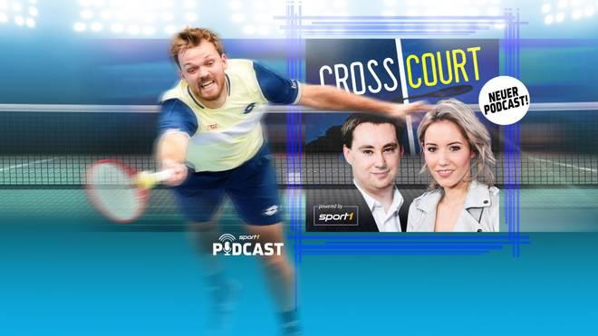 """Kevin Krawietz war in Folge 1 zu Gast im neuen Tennis-Podcast """"Cross Court"""""""