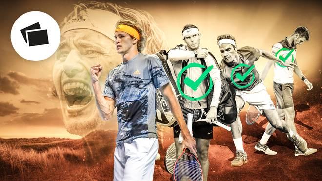 Alexander Zverev hat als 26. Spieler Rafa Nadal, Novak Djokovic und Roger Federer nun mindestens einmal geschlagen
