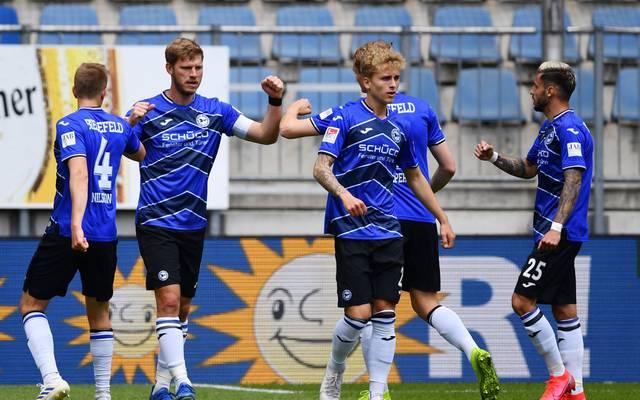 Tabellenführer Arminia Bielefeld will im Aufstiegsrennen vorlegen