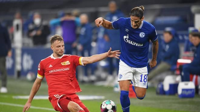 Goncalo Paciência (r.) erzielte den Ausgleich für Schalke