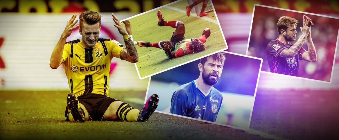 Die Bundesliga steht in den Startlöchern. Wenn es am Wochenende los geht, müssen einige Stars jedoch passen. SPORT1 zeigt, welche Spieler zum Auftakt der Saison nicht mit von der Partie sein können