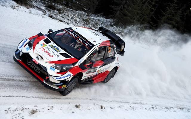 Elfyn Evans gewann die Rallye Schweden