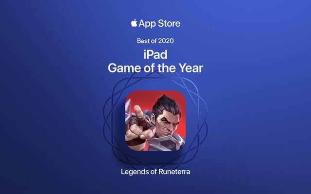 Legends of Runeterra wurde zum iPad Game of the Year gekürt