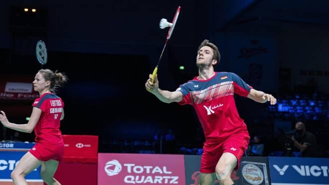 Das deutsche Badminton-Mixed Herttrich/Lamsfuß