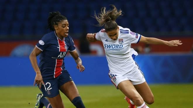 Das Hinspiel gewann Olympique Lyon mit 1:0