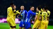 Im Spiel zwischen Hertha und dem BVB kam es zu einer Tätlichkeit von Vedad Ibisevic (3.v.l.)
