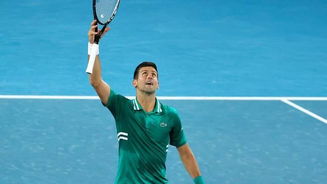 Novak Djokovic ist der neue Rekordhalter