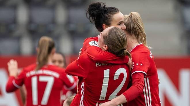 Die Bayern-Frauen fahren einen deutlichen Sieg ein