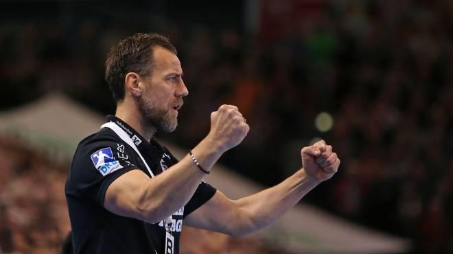 Cheftrainer Maik Machulla und seine SG Flensburg-Handewitt finden wieder zurück in die Erfolgsspur