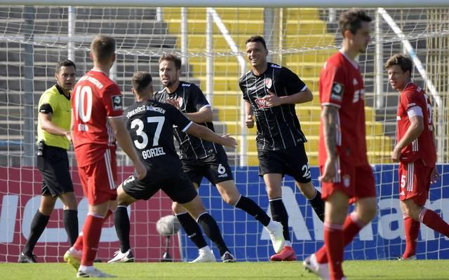 Marco Holz erzielte das 2:2 für Türkgücü