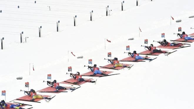 Oberhof ist 2023 Austragungsort der Biathlon-WM