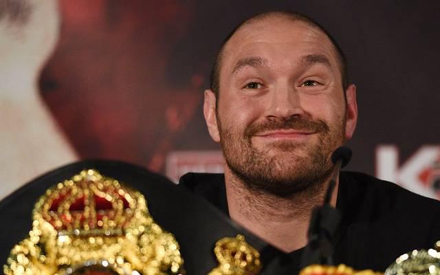 Tyson Fury freut sich auf prominente Unterstützung
