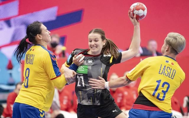 Die Hauptrundengegner der deutschen Handballerinnen stehen fest