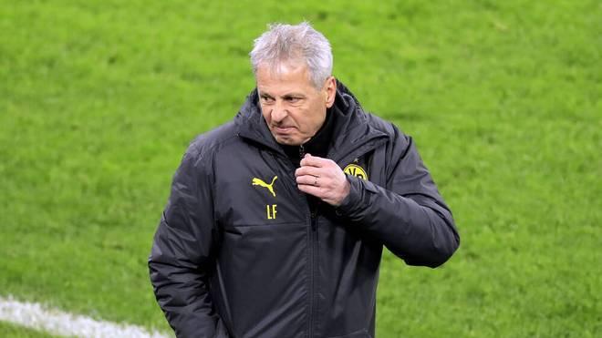 Lucien Favre steht beim BVB in der Kritik