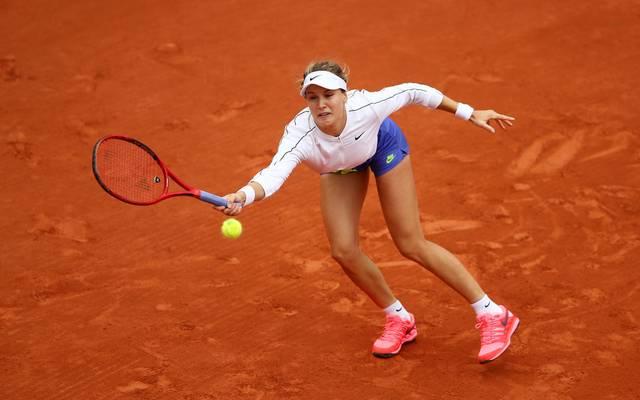 Für Eugenie Bouchard ist in Runde 3 der French Open Schluss