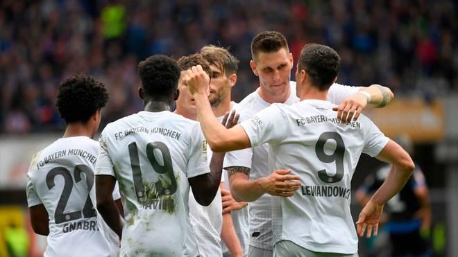 Der FC Bayern zählt zu den siegreichen Auswärtsteams