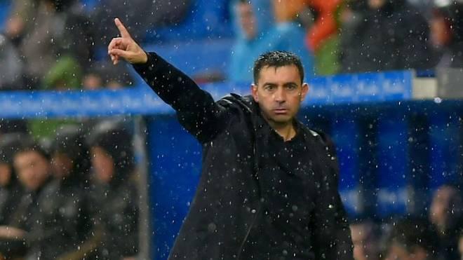 Asier Garitano war seit Sommer 2019 Trainer von Deportivo Alavés