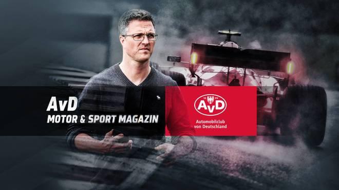 Ralf Schumacher ist am Sonntag zu Gast im AvD Motor & Sport Magazin
