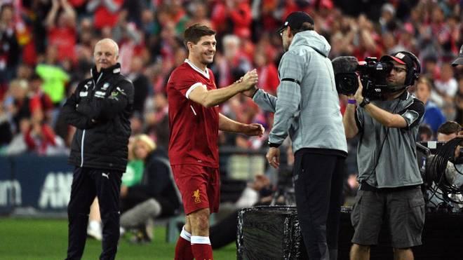 Steven Gerrard schwärmt von Jürgen Klopp
