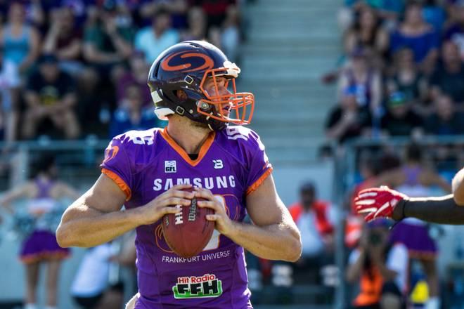 Andrew Elffers ist der Quarterback der Samsung Frankfurt Universe