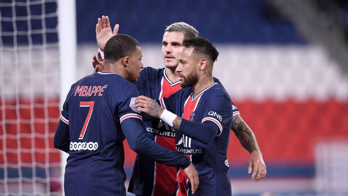 Draxler glänzt bei PSG-Kantersieg - Neymar schnürt Doppelpack