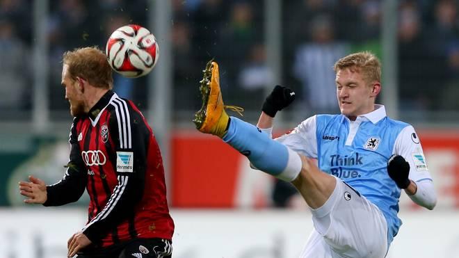Jannik Bandowski (r.) erzielte den Ausgleich für 1860 München