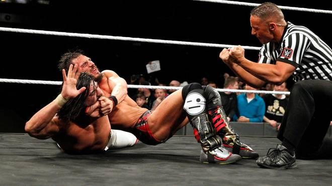 Johnny Gargano (oben) und Andrade Almas brillierten bei WWE NXT TakeOver: Philadelphia
