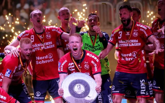 Handball: Bundesliga-Spielplan veröffentlicht, Flensburg nach Melsungen , Flensburg-Handewitt feierte in der vergangenen Saison den Titel vor Kiel