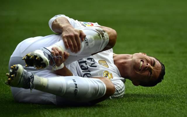 Cristiano Ronaldo kann in Manchester nicht mitwirken