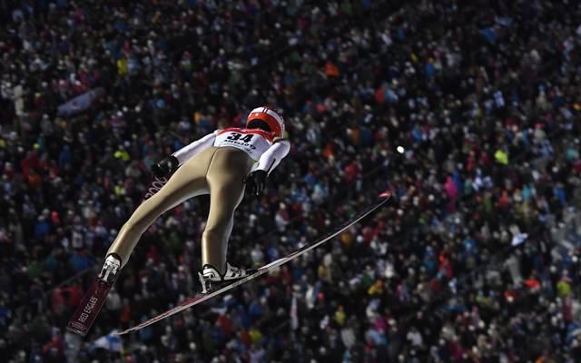 Stephan Leyhe landet bei der Qualifikation zum Start des Weltcups auf Platz zwei