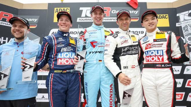 Daniel Halder gewinnt das TCR-Rennen in Most