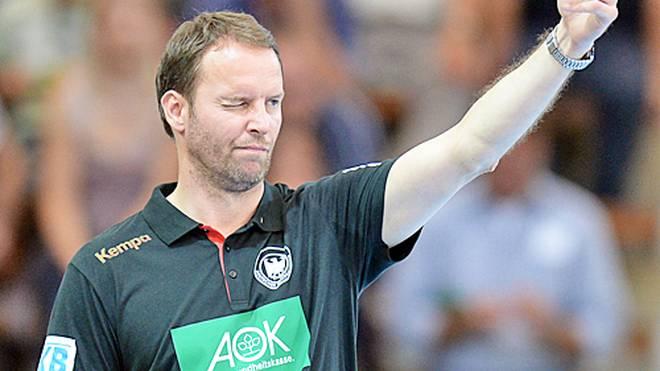 Bundestrainer Dagur Sigurdsson trifft mit Deutschland auf Dänemark