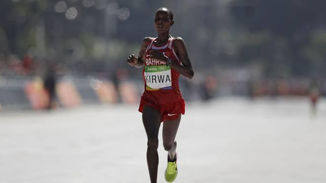 Eunice Jepkirui Kirwa wurde nach einer positiven Dopingprobe provisorisch gesperrt