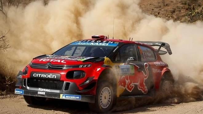 Sebastien Ogier überzeugte am Freitagnachmittag bei der Rallye Mexiko