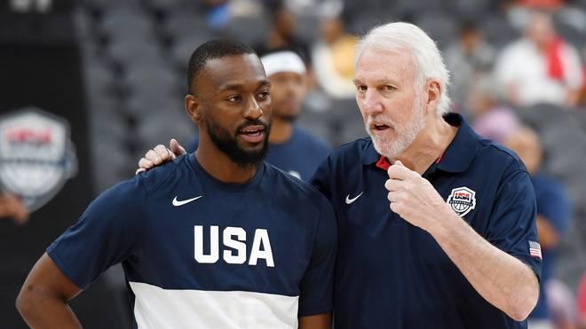 US-Coach Gregg Popovich hat Respekt vor den Basketballern Australiens