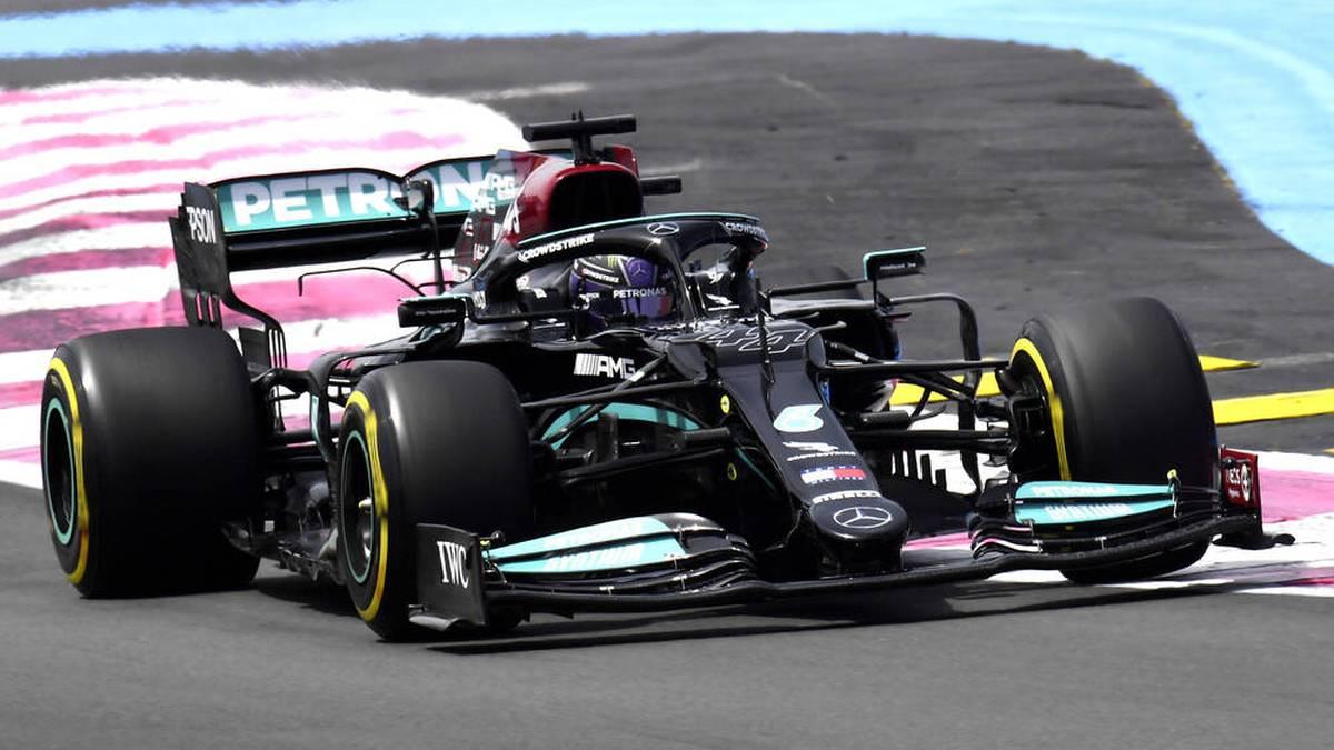 Lewis Hamilton will die Pole in Le Castellet