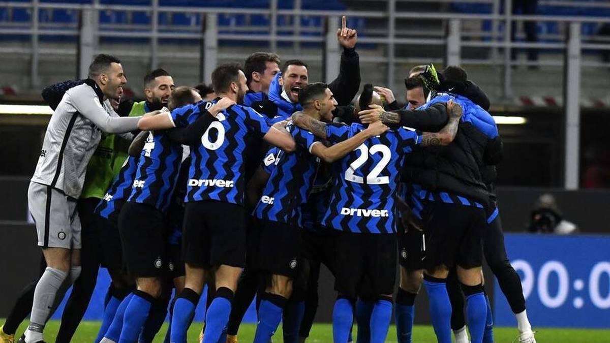 Inter gewann am Dienstag das Pokal-Derby gegen den AC Mailand mit 2:1