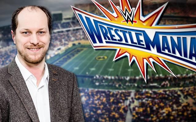 SPORT1-Redakteur Martin Hoffmann ist vor Ort bei WWE WrestleMania 33 in Orlando